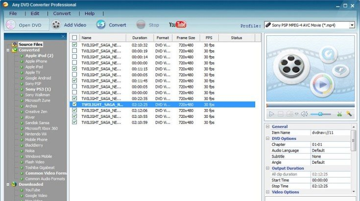 Any DVD Converter Professional Crack 7.2.0 + With Free Serial Key Download 2021