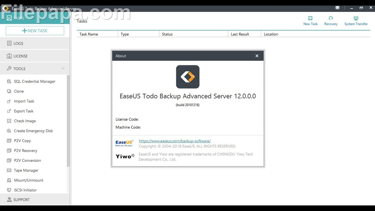 EaseUS Todo Backup Advanced Server Crack 13.5.0.5 With Free License 2021 [Latest]