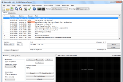 Subtitle Edit Crack 3.7.0 With Free Serial Key Full Download 2021