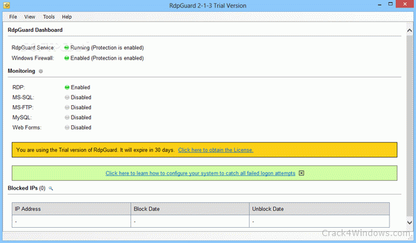 RdpGuard Crack 7.4.1 With Full Key Free Download  Get Softwares